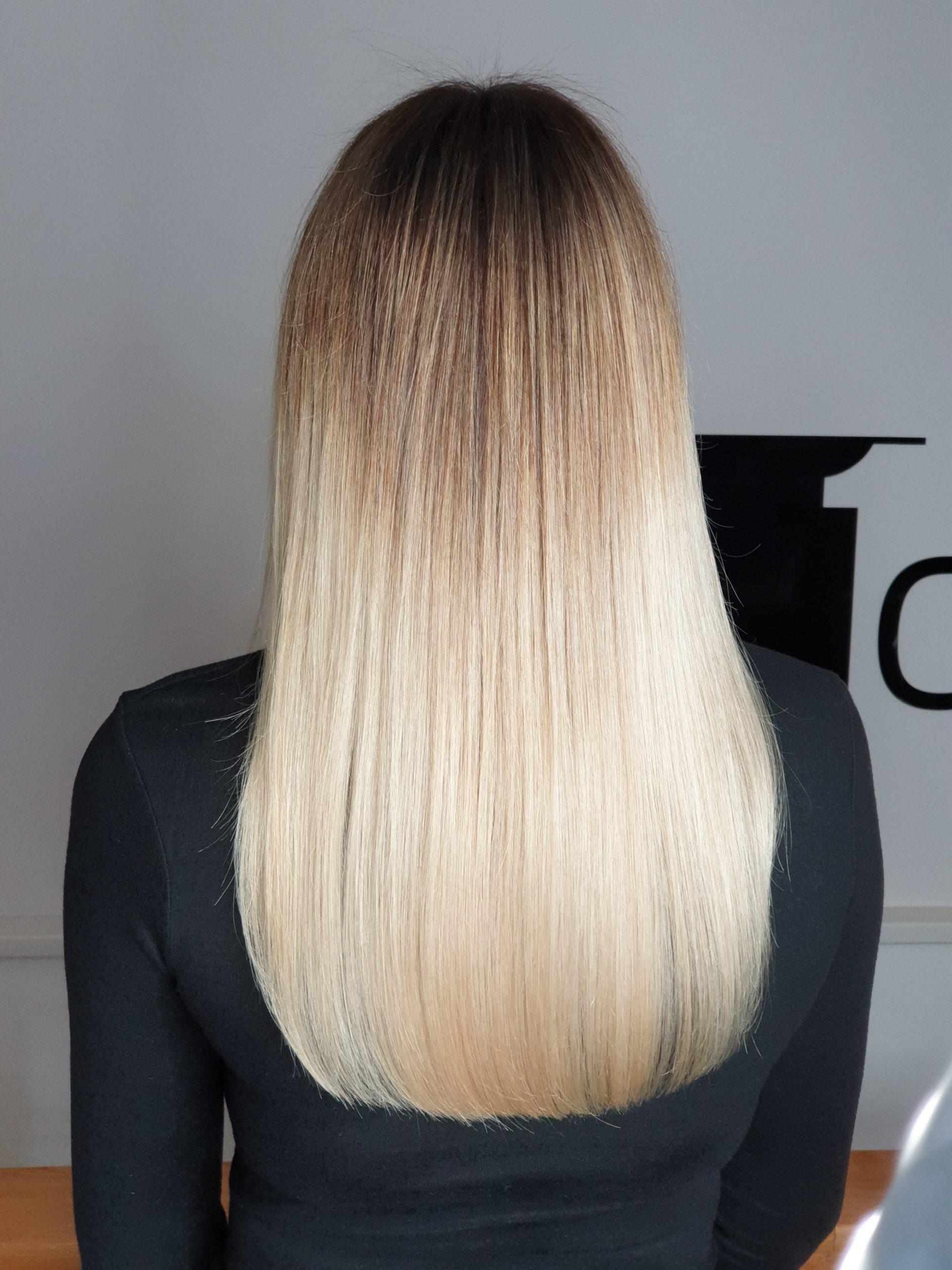 sombre si colour melt de la saten la blond deschis