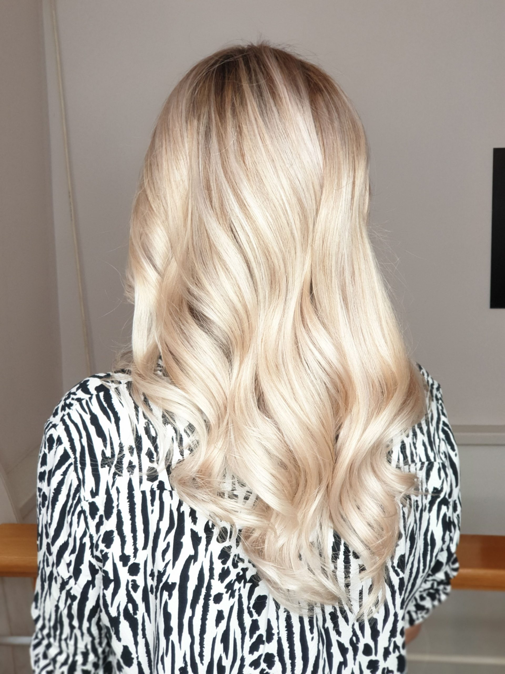 ombre cu blond luminos si suvite blond mediu